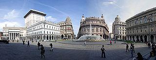 Piazza de Ferrari Genova Centro